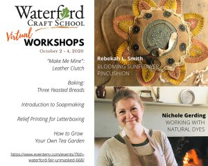 Craft School Virtual Workshops