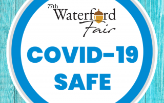 covid safety button